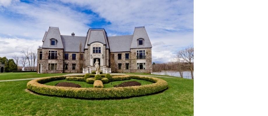 Celine Dion private Insel mit Villa zum Verkauf