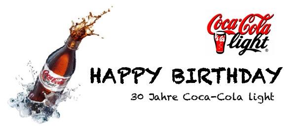 30 Jahre Coke light – Feiert mit!