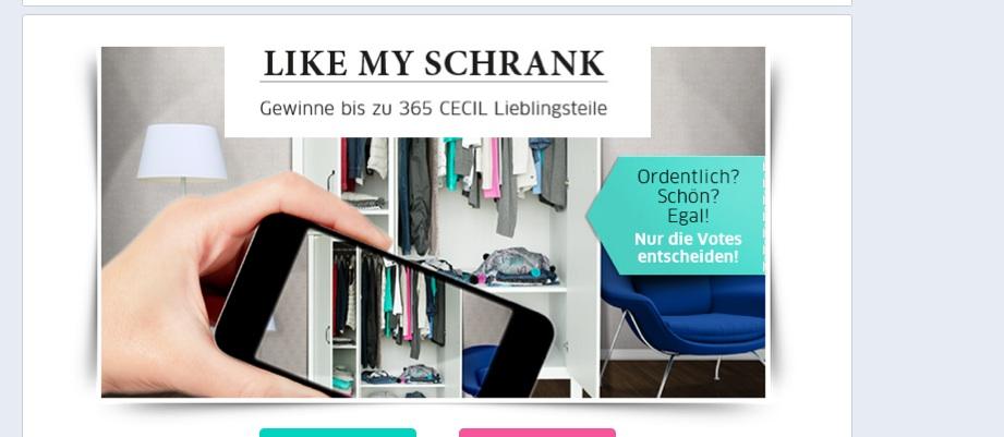 #CECIL: Like my Schrank