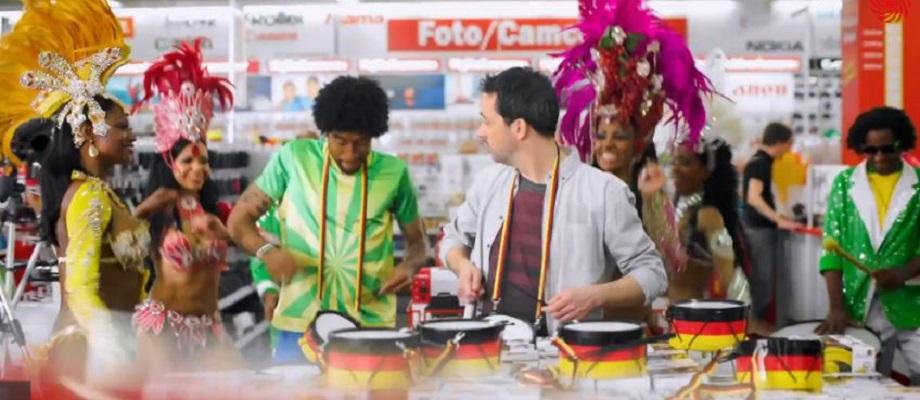 Mit Dante & ComBinho im Media Markt – Vuvuzela war gestern!